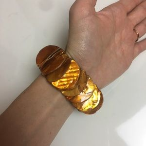 Jewelry - Orange Shell bracelet